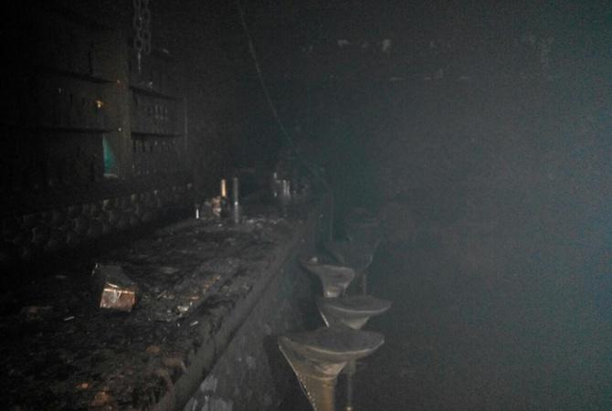 ВоЛьвове впожаре вночном клубе пострадали 14 человек