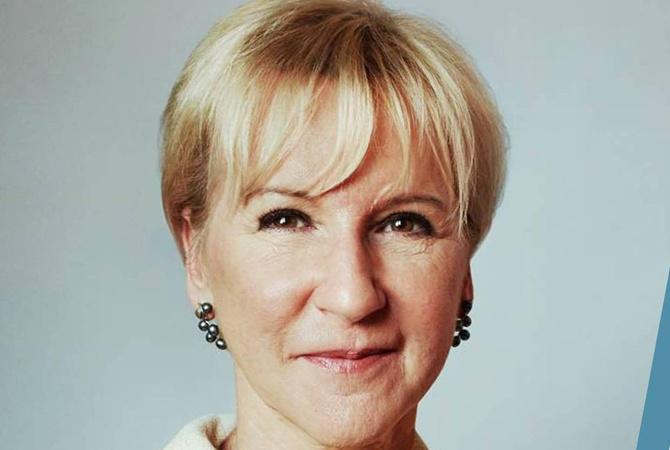 Реформами вУкраине заинтересовалась министр МИД Швеции