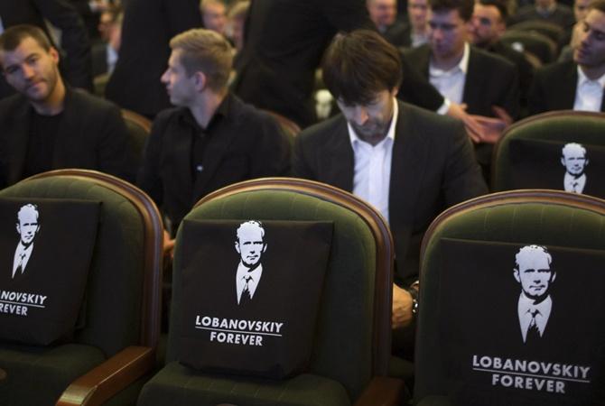 Порошенко посетил показ документального фильма «Лобановский навсегда»