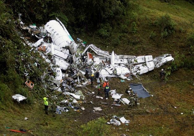 ВБразилии объявлен траур пожертвам авиакатастрофы вКолумбии