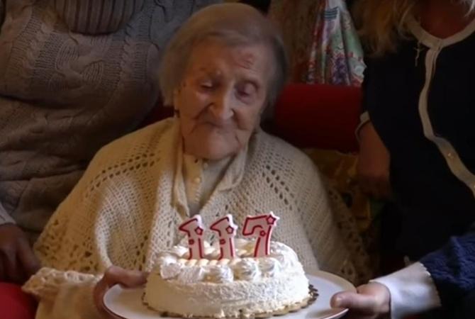 Старейшая жительница Земли сегодня отмечает 117-й день рождения