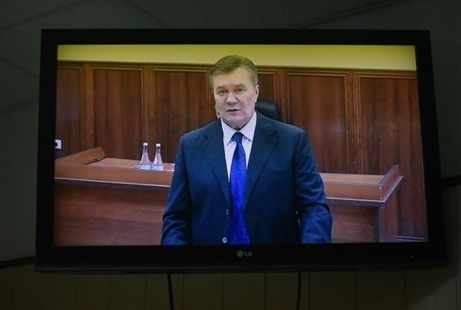 Заочно судить Януковича смогут впервом квартале 2017— Луценко