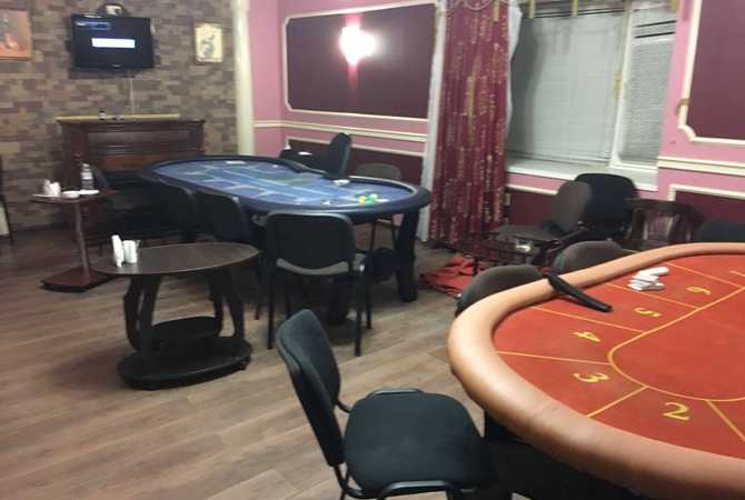 ВКиеве разоблачили VIP-казино спризовым фондом в150тыс.долл.