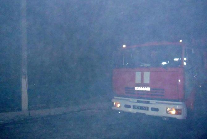 Напожаре погибли ребенок имужчина— Днепропетровская область