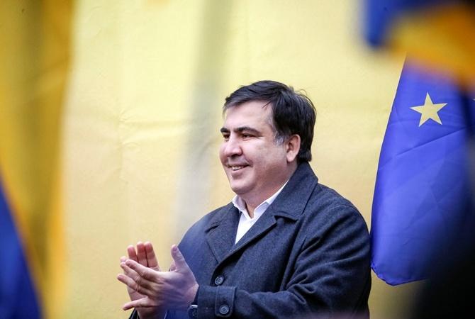 Саакашвили объявил, что вего партии уже неменее 20 тыс человек