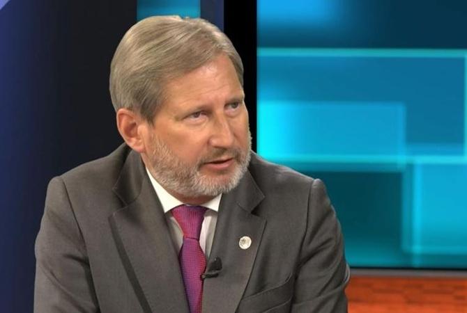 Еврокомиссар Йоханнес Хан призвал ускорить принятие безвиза для государства Украины