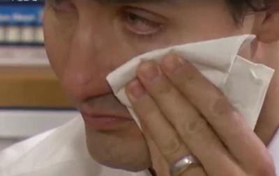 Премьер Канады Дж.Трюдо заплакал навстрече ссирийскими беженцами