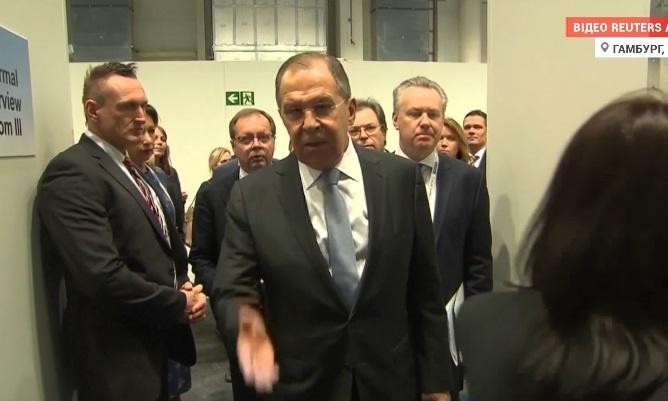 Руководитель МИДРФ Лавров обидел оператора Reuters— Дипломатия по-русски