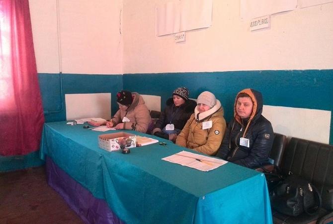 «Экстремальные» выборы: научастке вДнепропетровской области обвалилась крыша
