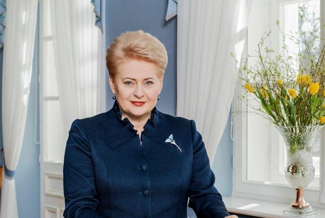 Президент Литвы Даля Грибаускайте сегодня посетит Киев