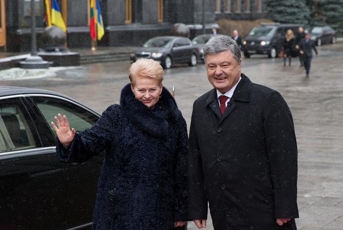 Грибаускайте назвала главную проблему Украинского государства идала обещание