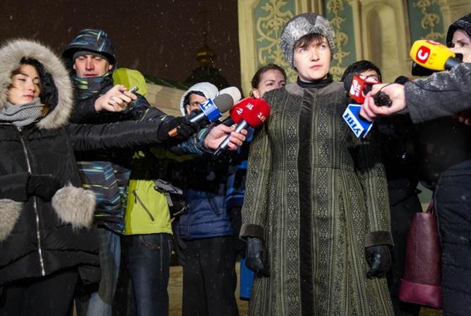 Надежду Савченко исключили из«Батькивщины»