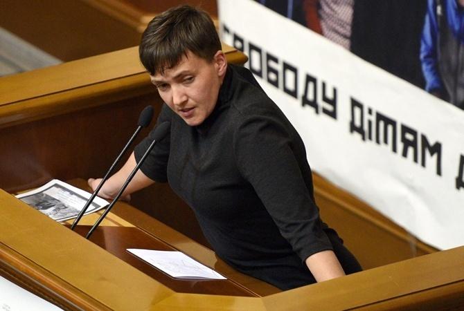 Савченко: Для меня Захарченко иПлотницкий неявляются террористами
