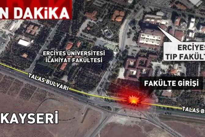 Атаку пассажирского автобуса устроил террорист-смертник— МИД Турции