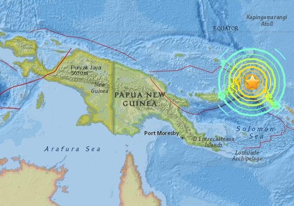 Землетрясение магнитудой 5,1 зафиксировано вИндонезии