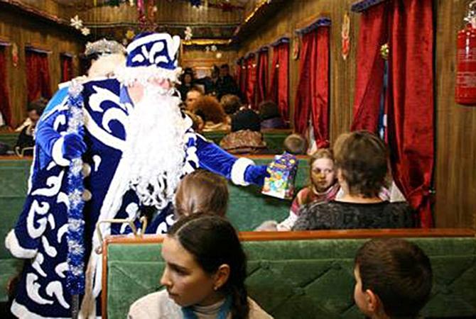 «Укрзализница» запускает туристические поезда Святого Николая