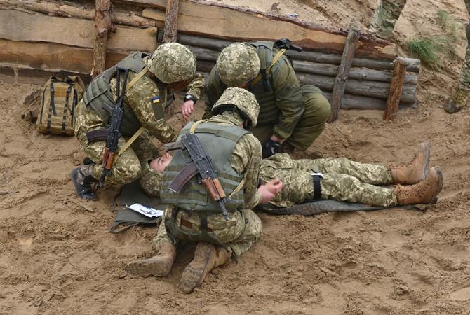 НаДонбассе в нынешнем году погибли 211 украинских военных,— ВСУ