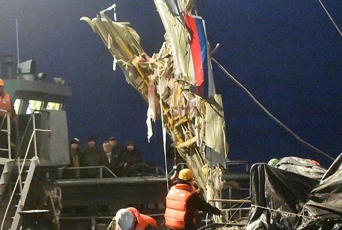 СМИ проинформировали обстоятельства падения Ту-154