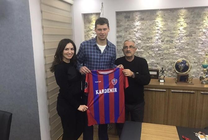Александр Рыбка переходит втурецкий «Карабюкспор»