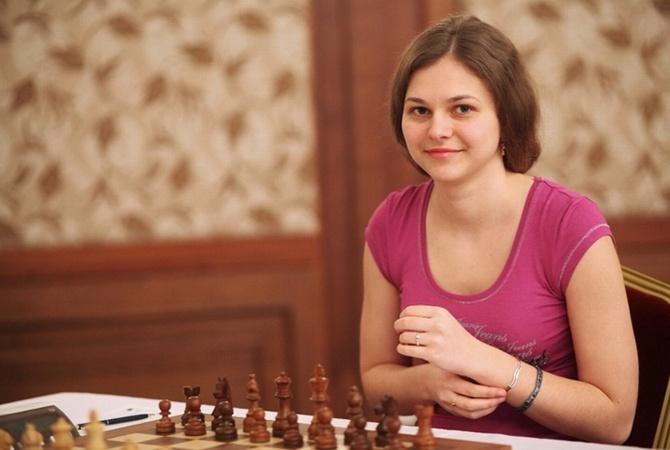 Шахматистка Анна Музычук завоевала вторую победу для государства Украины