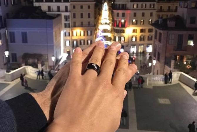 ВНовогоднюю ночь Лещенко сделал предложение собственной девушке