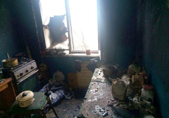 Вкременчугской многоэтажке произошел пожар: два человека погибли