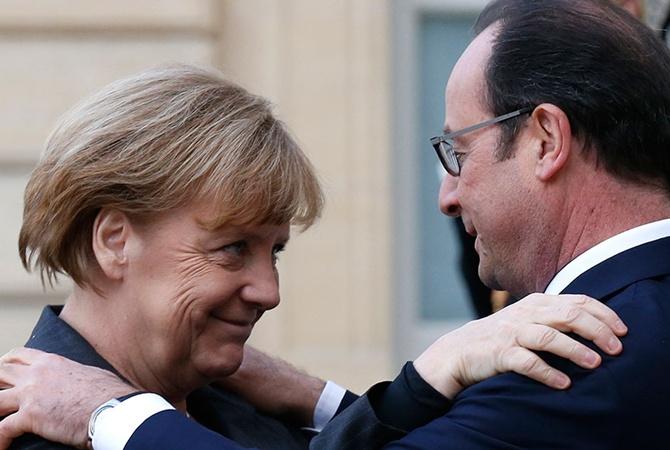 Меркель иОлланд неприедут нафорум вДавос