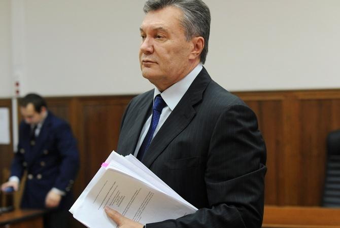 Юристы просят Окружной админсуд столицы Украины обеспечить дачу показаний Януковичем