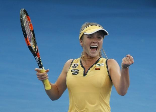 Украинка эффектно обыграла лучшую теннисистку мира накрупном турнире