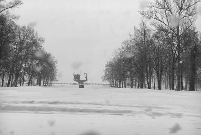 Повсей территории Украины снег, температура до