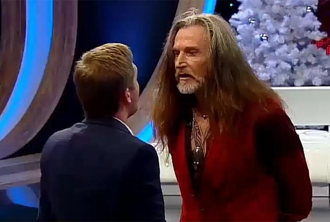 Телевизионный ведущий подрался сДжигурдой в«Прямом эфире»