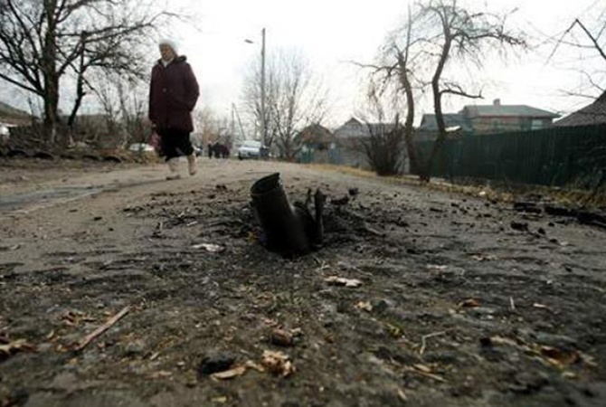 Мирная жительница ранена вМарьинке впроцессе обстрела боевиков