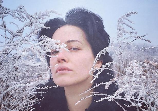 Даша Астафьева прошлась поснегу вкупальнике— Мороз нестрашен