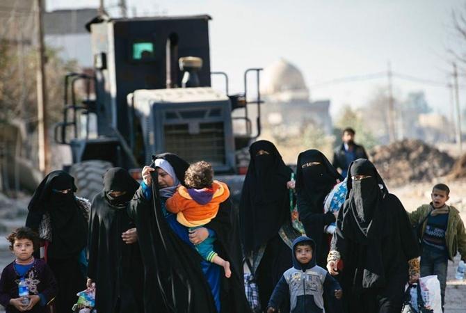 Около 30 мирных граждан иракского Мосула погибли при бомбардировке