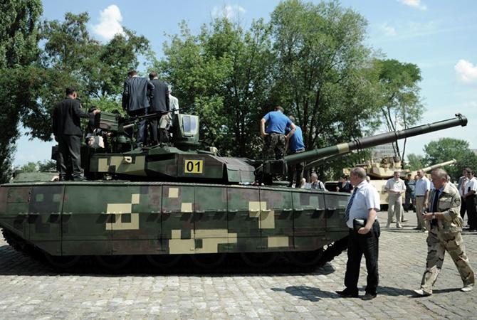 Украина начинает передачу Таиланду танков Оплот