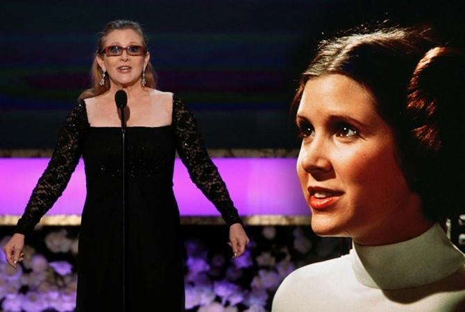 Lucasfilm небудет «воскрешать» Кэрри Фишер для новых «Звездных воин»