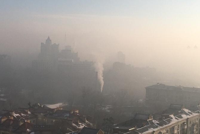 Киев накрыл запах гари: ГСЧС ищут источник данной вони