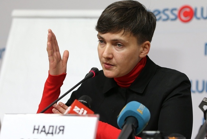Донбасс можно вернуть, сдав временно Крым,— Савченко