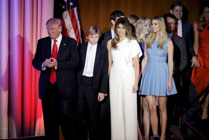 Иванка Трамп впреддверии инаугурации восхитила модным look'ом