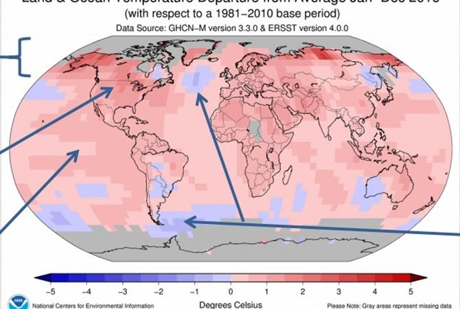 Учёные прогнозируют катастрофическое повышение уровня Мирового океана