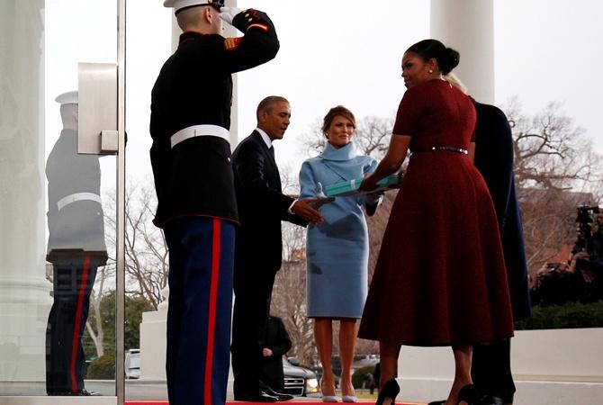 Стало известно, что подарила Меланья Трамп Мишель Обама