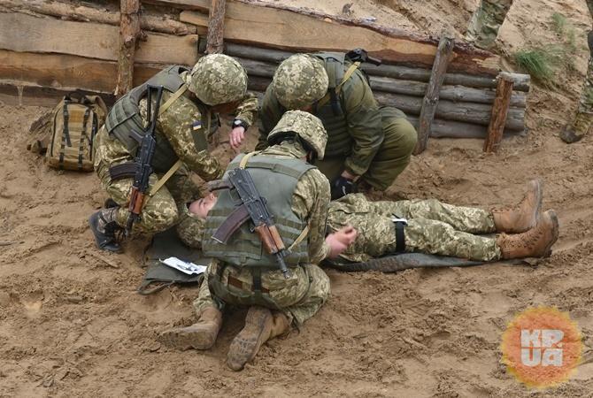 Украинских военных обстреляли 19 раз— штаб