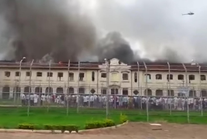 В итоге очередного тюремного бунта вБразилии убежали 200 заключённых