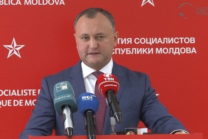 Президент Молдовы хочет расторгнуть соглашение оботкрытии бюро связей сНАТО