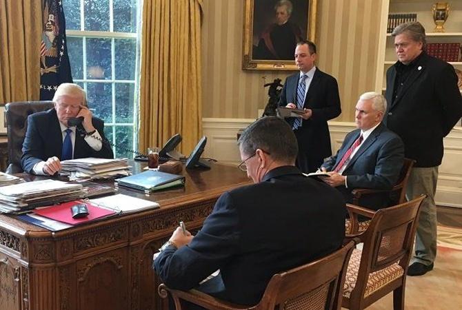 УТрампа подтвердили договоренность отелефонном разговоре сПутиным
