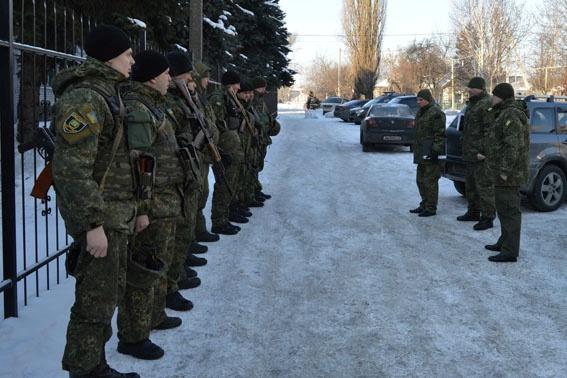 ВАвдеевку направили отряд милиции напомощь гарнизону