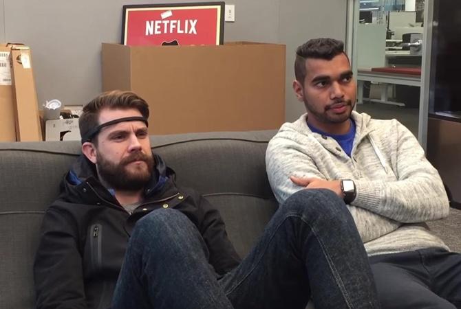 Создатели Netflix показали устройство для управления просмотром при помощи силы мысли