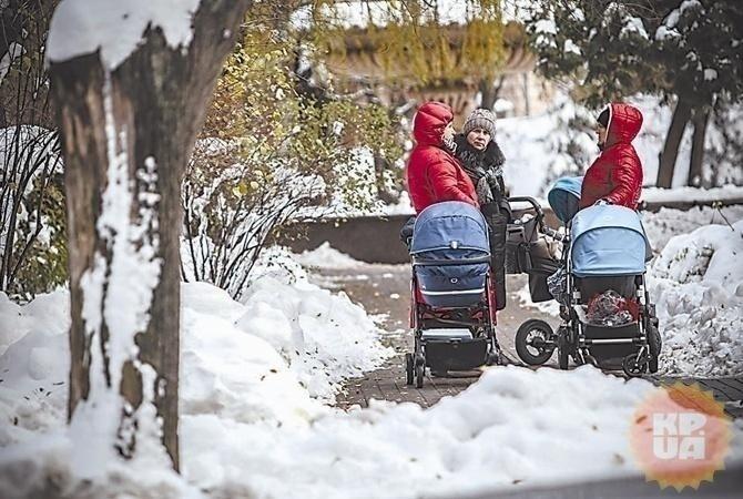 Встолицу Украинского государства придут дожди имокрый снег