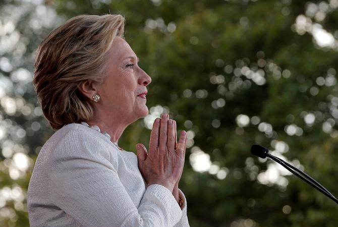 Клинтон напишет книгу освоем поражении напрезидентских выборах