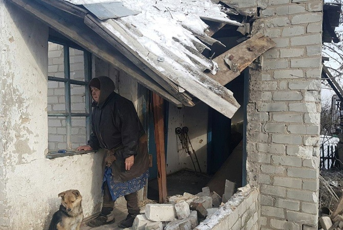 Штаб АТО: Боевики атакуют Авдеевку с употреблением минометов